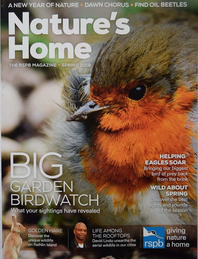 RSPB Nature's Home Spring 2018
